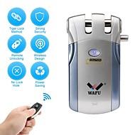 billige Intelligente låser-WAFU WF-018 Plastikker / Sinklegering Intelligent Lås Smart hjemme sikkerhet iOS / Android System Lavt batteri påminnelse Hjem / Hjem / kontor / Soveværelse (Lås opp modus Fjernkontroll)
