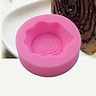 billige Bakeredskap-Bakeware verktøy Silikon Kreativ Kjøkken Gadget Originale kjøkkenredskap Rund Dessertverktøy 1pc