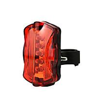 billige Sykkellykter og reflekser-Baklys til sykkel LED Sykkellykter Sykling Vanntett, Fort Frigjøring, Lettvekt Li-ion 50 lm AAA Rød Camping / Vandring / Grotte Udforskning / Sykling
