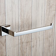 cheap Bathroom Products-Towel Bar New Design / Cool Contemporary Stainless Steel 1pc 1-Towel Bar Wall Mounted