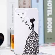 billiga Mobil cases & Skärmskydd-fodral Till Huawei Honor 7A / Honor 7C(Enjoy 8) Genomskinlig / Mönster Skal Fjäril / Sexig kvinna Mjukt TPU för Huawei Honor 10 / Honor 9 / Huawei Honor 9 Lite