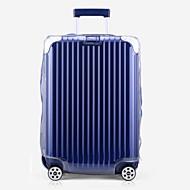 Χαμηλού Κόστους Τσάντες αποσκευών και ταξιδίου-PVC Κάλυμμα αποσκευών Φερμουάρ Λευκό