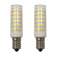 billige Kornpærer med LED-2pcs 4 W 340 lm E14 LED-kornpærer T 78 LED perler SMD 2835 Dekorativ Varm hvit / Kjølig hvit 220-240 V