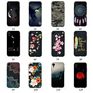 billiga Mobil cases & Skärmskydd-fodral Till Apple iPhone XR / iPhone XS Max Mönster Skal Landskap / Djur / Blomma Mjukt TPU för iPhone XS / iPhone XR / iPhone XS Max