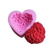 billige Bakeredskap-Bakeware verktøy Silikon 3D / Kreativ Kjøkken Gadget Kake / Sjokolade / For Godteri Cake Moulds / Dessertverktøy 1pc