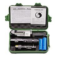 ieftine -2000 lm Lanterne LED LED 3 / 5 Mod - U'King Zoomable / Focalizare Ajustabilă