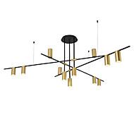 billiga Belysning-ZHISHU Geometriskt Ljuskronor Glödande Elektropläterad Metall Ny Design 110-120V / 220-240V Varmt vit / Vit Glödlampa inkluderad / E26 / E27