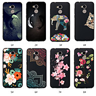 billiga Mobil cases & Skärmskydd-fodral Till Huawei Honor 10 / Honor 9 Lite Mönster Skal Djur / Blomma Mjukt TPU för Huawei Honor 10 / Huawei Honor 9 Lite / Honor 7A