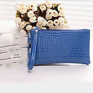 baratos Clutches & Bolsas de Noite-Mulheres Bolsas PU Bolsa de Mão Ziper Azul Escuro / Roxo / Fúcsia