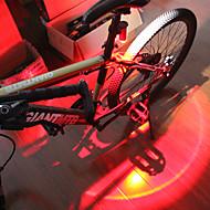 preiswerte -Sicherheitsleuchten - Radlichter LED Radsport Wasserfest, Tragbar, Schnellspanner Li-Polymer 150 lm Aufladbare Batterien Mehrfarbig Radsport