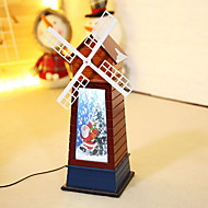 baratos Decoração-Enfeites de Natal Natal De madeira Novidades Decoração de Natal