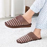 baratos Sapatos Masculinos-Homens Sapatos Confortáveis Sintéticos Inverno Chinelos e flip-flops Cinzento / Café