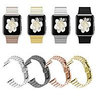 billiga Smart klocka Tillbehör-Klockarmband för Apple Watch Series 4 / Apple Watch Series 4/3/2/1 Apple fjäril spänne Metall / Rostfritt stål Handledsrem