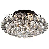 billige Taklamper-3-Light Krystall / Mini Takplafond Omgivelseslys Metall Krystall, Øyebeskyttelse 110-120V / 220-240V Pære ikke Inkludert / FCC