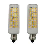 billige Kornpærer med LED-2pcs 5 W 460 lm E11 LED-kornpærer 102 LED perler SMD 2835 Varm hvit / Kjølig hvit 220-240 V