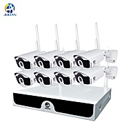 cheap -JOOAN® Wireless CCTV System 4 Channel 1080p Video Recorder CCTV NVR 4 x 2.0MP WiFi Outdoor Network IP Cameras Good Night Vision
