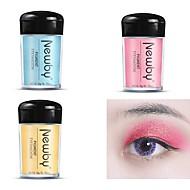 billiga Ögonskuggor-16 färger Ögonskuggor Förlovningsfest / Ögonskugga Ljusglimmer / Enkellock / Glittrig Festmakeup / Älvlik makeup Smink Kosmetisk
