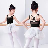 Danza classica Vestiti Da ragazza Addestramento / Prestazioni Elastene / Licra Fiocco (fiocchi) / Più materiali Senza maniche Abito