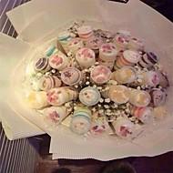 billige Bakeredskap-Bakeware verktøy Plast Søtt / Kreativ Kjøkken Gadget Kake / For kjøkkenutstyr Rund Dessert dekoratører / Dessertverktøy 10pcs