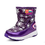 baratos Sapatos de Menina-Para Meninas Sapatos Couro Ecológico Inverno Botas de Neve Botas Velcro para Infantil Roxo / Azul / Rosa claro