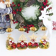 billiga Heminredning-Holiday Decorations Julpynt juldekoration Dekorativ Beige / Gul / Ljusgul 1st