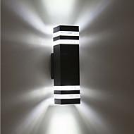 baratos Focos-1pç 8 W Focos de LED Impermeável Branco Quente / Branco Frio 85-265 V Iluminação Externa / Pátio / Jardim 8 Contas LED