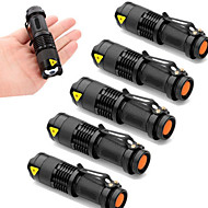 ieftine -2000 lm Lanterne LED Cree XR-E Q5 3 Mod - UltraFire SK68 - Zoomable / Rezistent la apă / Focalizare Ajustabilă