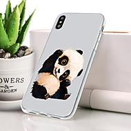 billiga Mobil cases & Skärmskydd-fodral Till Apple iPhone XR Dammtät / Ultratunt / Mönster Skal Djur Mjukt TPU för iPhone XR
