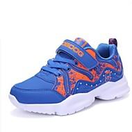 baratos Sapatos de Menino-Para Meninos Sapatos Sintéticos Primavera & Outono Conforto Tênis Caminhada para Infantil / Adolescente Laranja / Vermelho / Azul