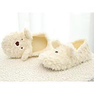 cheap Kids' Slippers-Girls' Shoes Synthetics Winter Comfort / Fur Lining Slippers & Flip-Flops for Kids Beige / Pink