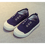 baratos Sapatos de Menino-Para Meninos / Para Meninas Sapatos Lona Primavera Verão Conforto Mocassins e Slip-Ons para Infantil / Bébé Azul Escuro / Vermelho / Rosa claro
