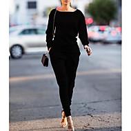 Mujer Sudadera - Un Color Pantalón
