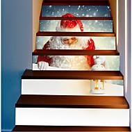 billiga Väggklistermärken-Dekrativa Väggstickers - Holiday väggdekaler Jul Utomhus / Kontor