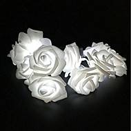 brelong 20led valentinsdag dekorative rose streng lys 1 stk