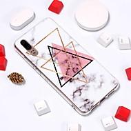 billiga Mobil cases & Skärmskydd-fodral Till Huawei P20 / P10 Lite Mönster Skal Marmor Mjukt TPU för Huawei P20 / Huawei P20 Pro / Huawei P20 lite