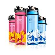 billiga Dricksglas-Dryckes Sportflaska / Dricksglas / Vattenkanna och vattenkokare PP+ABS / ABS + PC Bärbar / flickvän gåva Träning / Sport & Utomhus