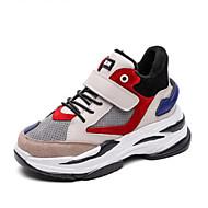 baratos Sapatos de Menino-Para Meninos Sapatos Camurça Outono & inverno Conforto Tênis Caminhada Cadarço para Infantil / Adolescente Preto / Cinzento