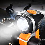 billige Sykkellykter og reflekser-Frontlys til sykkel LED Sykkellykter LED Sykling Vanntett, Bærbar, Justerbar Oppladbart Batteri 500-1200 lm Batterier drevet Hvit Camping / Vandring / Grotte Udforskning / Sykling