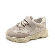 baratos Sapatos de Menina-Para Meninos / Para Meninas Sapatos Com Transparência Outono Conforto Tênis para Infantil / Bébé Preto / Bege / Rosa claro