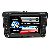 cheap Car Accessories Sale Promotion with NAIAS-520WGNR04 7 inch 2 DIN Windows CE In-Dash Car DVD Player GPS / Touch Screen / Built-in Bluetooth for Volkswagen Support / Steering Wheel Control / Subwoofer Output / Games / SD / USB Support