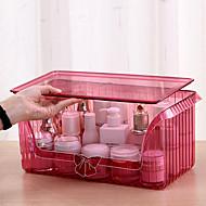 tanie Przechowywanie biżuterii-Przechowywanie Organizacja Kosmetyczny makijaż organizator Akryl Kształt prostokąta Odporne na kurz