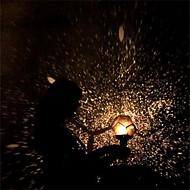 tanie Dekoracje-Dekoracje świąteczne Sylwester / Dekoracje świąteczne Oświetlenie świąteczne / Ozdoby świąteczne Lampka LED / Nowoczesne Czarny 1 szt.