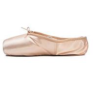 billige Ballettsko-Dame Ballettsko Sateng Flate Flat hæl Dansesko Rosa