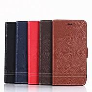 billiga Mobil cases & Skärmskydd-fodral Till Huawei Honor 9 Lite / Honor 8 Plånbok / Korthållare / med stativ Fodral Enfärgad Hårt PU läder för Honor 9 / Huawei Honor 9 Lite / Honor 8