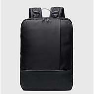 billige Computertasker-Oxfordtøj Laptoptaske Lynlås Mørkeblå / Rosa / Mørkegrå