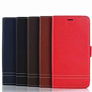 billiga Mobil cases & Skärmskydd-fodral Till Xiaomi Redmi 6 / Redmi 5 Plus Plånbok / Korthållare / med stativ Fodral Enfärgad Hårt PU läder för Redmi Note 5A / Xiaomi Redmi Note 4X / Xiaomi Redmi Note 4