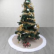 tanie Dekoracje-Choinki świąteczne / Święta / Ozdoby świąteczne Święto / Choinka Tekstylny Zaokrąglony / Okrągły Impreza Świąteczna dekoracja
