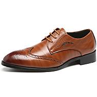 baratos Sapatos Masculinos-Homens Sapatos formais Sintéticos Primavera & Outono Casual / Formais Oxfords Não escorregar Marron / Azul / Vinho