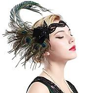 Femme Gatsby le magnifique Déguisements  Vintages Rétro Vintage Années 20 Gatsby Casque Bandeau Garçonne pour Soirée Fête scolaire / Les rugissantes années 20