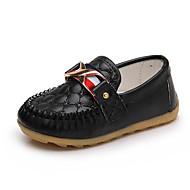 baratos Sapatos de Menino-Para Meninos Sapatos Sintéticos Primavera & Outono Conforto Mocassins e Slip-Ons para Infantil Preto / Amarelo / Azul